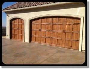 Custom wood door installation and repairs