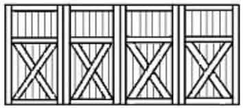 Custom wood garage doors 167