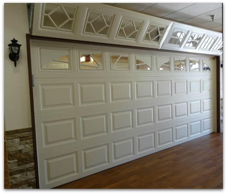 A1 garage doors showroom 16 x 7