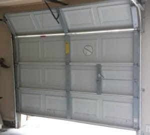 Garage Door won't close because of sagging chain