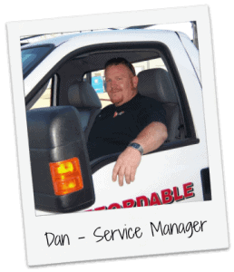 Dan Shearrer Garage Door Service Manager