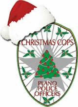 Plano Christmas Cops Logo