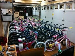 Plano Police Christmas Cops 50 Bikes