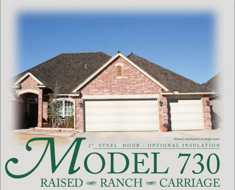 Model 730 Windsor Garage Door