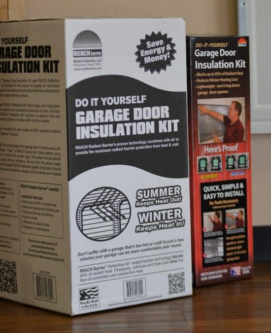 DIY Garage Door Insulation Kit