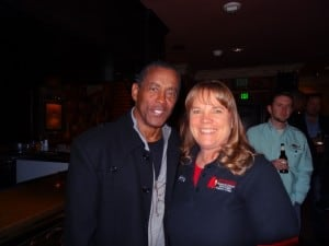 Kris O'Connor and Tony Dorsett