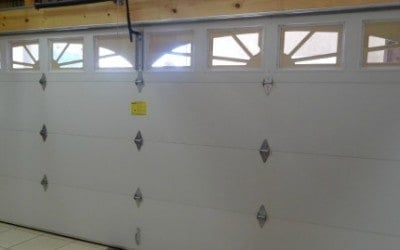 Windsor Model 790 Double Steelback Garage Door