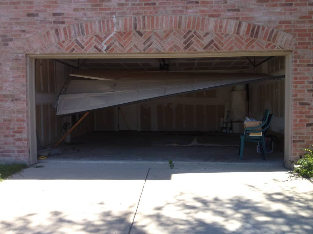 Emergency Garage Door Repair Stuck Open