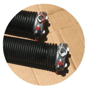 two garage door torsion springs 1