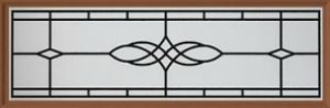 Amarr Victorian Long Panel Decraglass Window Design
