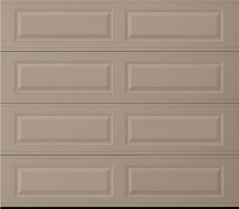 Amarr Heritage Sandtone Long Panel Garage Door