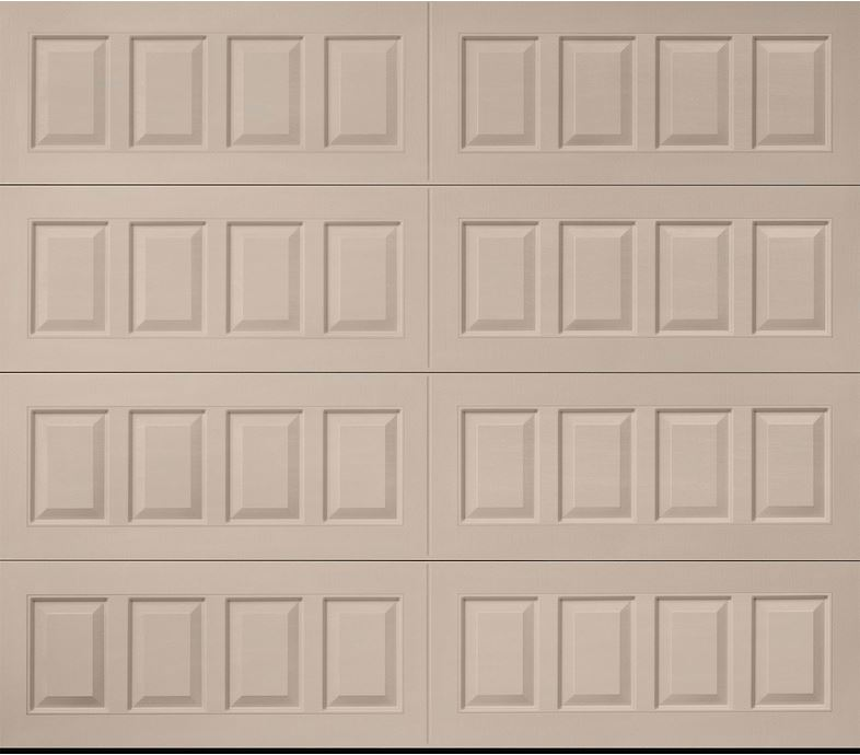 Hillcrest Sandtone Raised Panel Garage Door