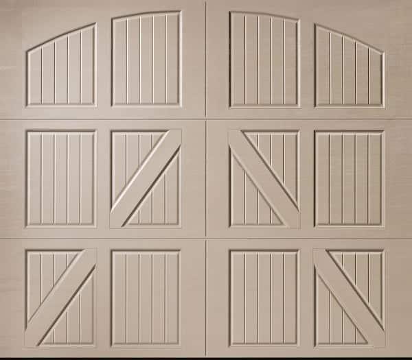 Amarr Classica Lucern Closed Arch garage door