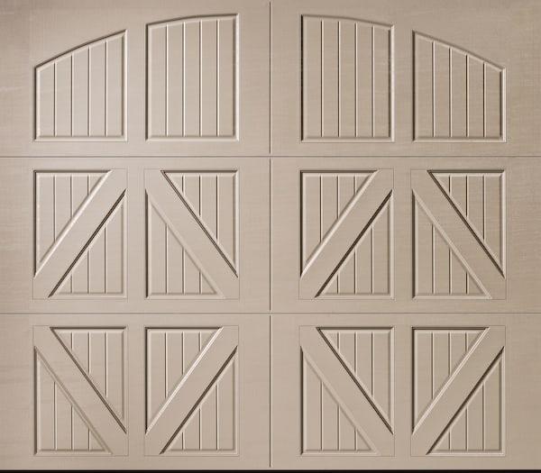 Amarr Classica Valencia Closed Arch garage door