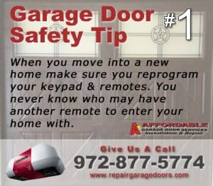 Garage Safety Tip 1 - Remote Security