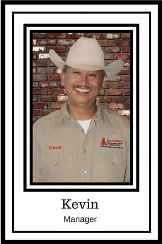 Kevin Manager A1 Affordable Garage Door Services