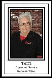Terri Webster - Customer Service - A1 Affordable Garage Door Services