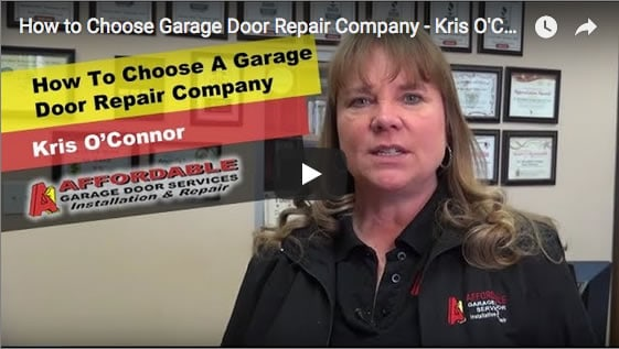 how to choose a garage door company