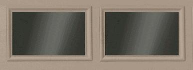 Amarr Dark Tint Short Panel Window Design