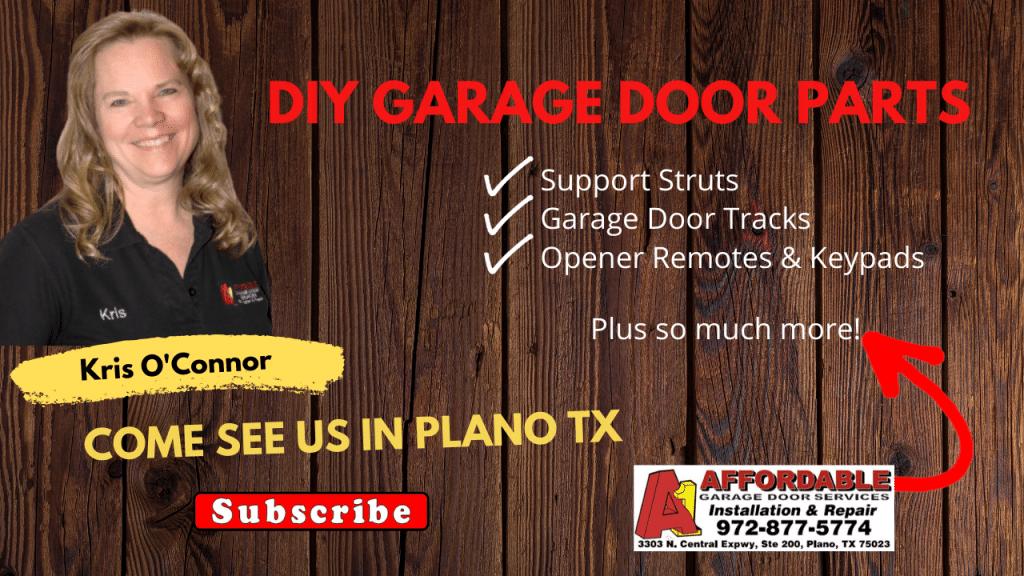 Parts - DIY Garage Door Parts Showroom