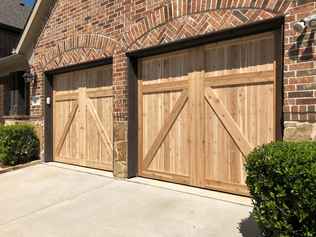 Custome Wood Garage Door Repair & installation