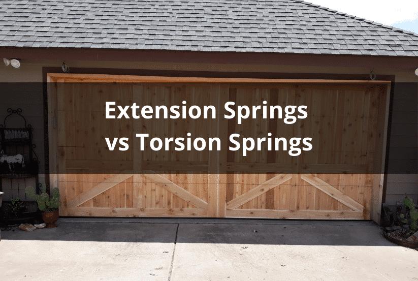 Extension Springs vs Torsion Springs